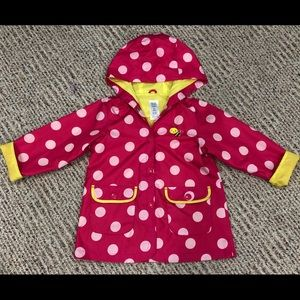 Just One You, made by Carter's Raincoat Girls 5T